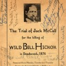 Trial of Jack McCall, Killing of Wild Bill, Signed Vintage Souvenir Programme, Deadwood SD c.1939