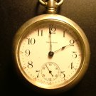 Antique Waltham Watch Co. Men's Pocket Watch, s18, Silverode Case c.1904