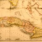 Map and History of Cuba by Lieut. E. Hannaford c.1897