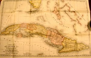 Map and History of Cuba, Lieut. E. Hannaford c.1897