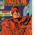 Daredevil #41 The Death of Mike Murdock c.1968