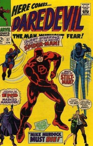 Daredevil #27 Spider Man, Mike Murdock Must Die c.1967