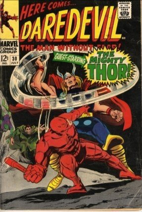 Daredevil #30 The Mighty Thor c.1967