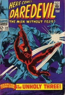 Daredevil #39 The Unholy Three c.1967