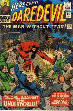 Daredevil #19 The Gladiator Alone Against The World c.1966