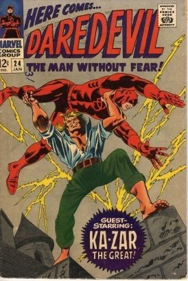 Daredevil #24 Ka-Zar The Great c.1967