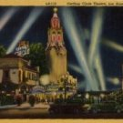 Los Angeles California Postcard, Fox Carthay Circle Theatre c.1941