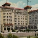 St. Petersburg Florida Postcard, The Soreno Hotel, Sunshine City c.1910
