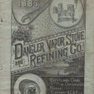 Dangler Vapor Stove Co. of Cleveland Ohio, Catalog & Letterhead c.1884