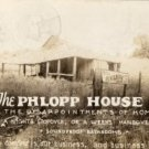 Humorous Postcard, The Phlopp House, All The Disappointments of Home, Real Photo c.1941