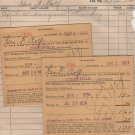 Vintage Invoices, Receipts, Bills and Envelopes, Ohio Towns & Cities, 37 Total c.1913 - 1952