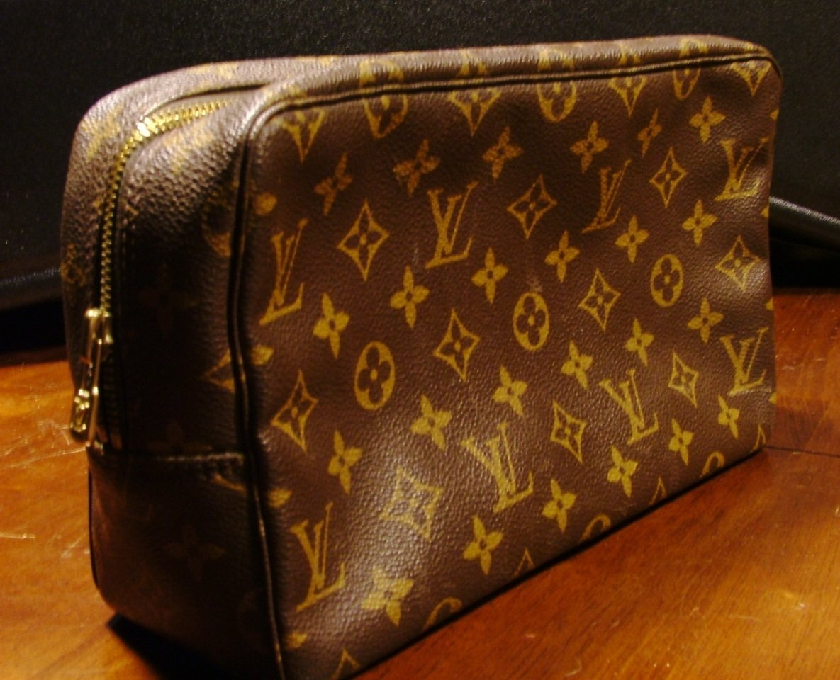 Authentic Louis Vuitton Trousee Toilette Case, One Owner
