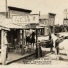 Buena Park California Postcard, Knott's Berry Place with Cowboys & Horses, Real Photo c.1949