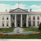 Washington D.C. Postcard, The White House, Full Color c.1915