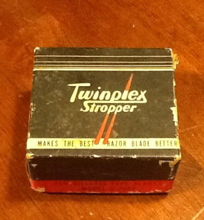 Twinplex Stropper For Gillette Blades, Original Box and Instructions c.1920