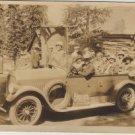 Touring Car Photo, California Sightseers in Open Air Sedan c.1926