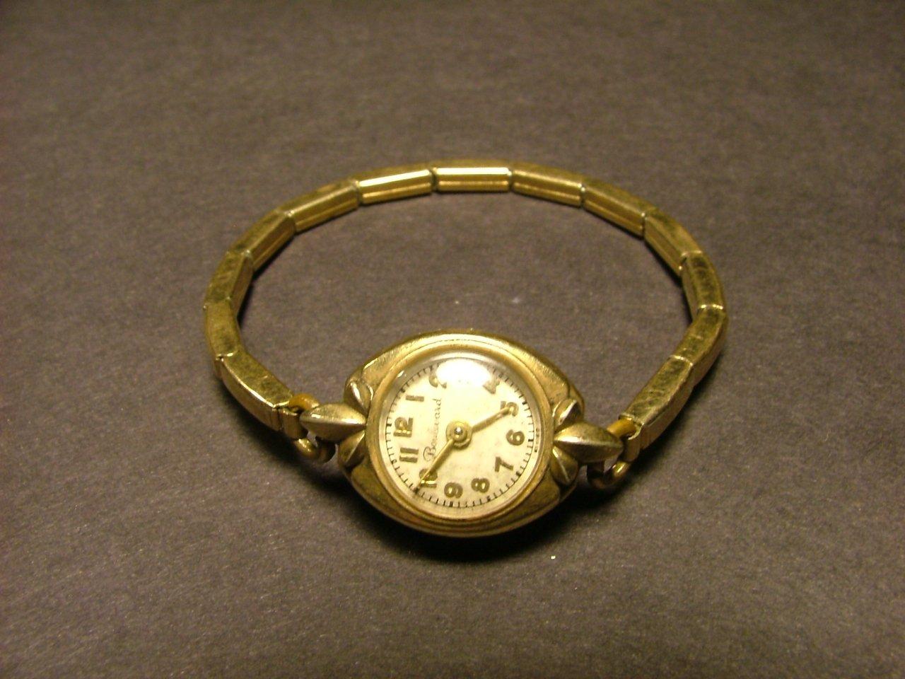 Boulevard Women's Watch, Mead Co, Original Bracelet Band c.1940