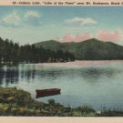 Black Hills South Dakota Postcard, Dakota Lake, Lake of the Pines, near Mt. Rushmore c.1946