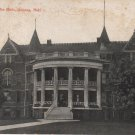 Geneva Nebraska Postcard, Industrial School for Girls Building c.1910