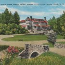 Vintage Black Hills South Dakota Postcard, The State Game Lodge Hotel, Custer State Park c.1939