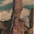 Vintage South Dakota Postcard, The Traffic Cop, Needles Highway, Custer State Park c.1939