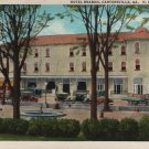 Cartersville Georgia Postcard, Hotel Braban, H.B. Parris, Mgr., Full Color c.1939