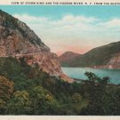 New York Landscape Postcard, Storm King & The Hudson River from the South c.1907