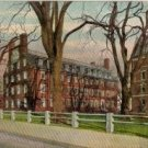 Boston Postcard, Massachusetts Hall at Harvard College, Full Color c.1915