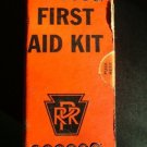 Authentic Pennsylvania Railroad First Aid Kit c.1963