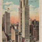 New York City Card, Bush Terminal Sales Building, Full Color c.1925
