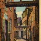 Quebec Canada Postcard, Sous-le Cap Street, Full Color c.1947