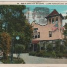 Cedar Point Ohio Postcard, Administration Building at Cedar Point-On-Lake Erie c.1930