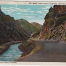 Colorado Postcard, Bear Creek Canyon Highway, Denver Mountain Parks c.1920