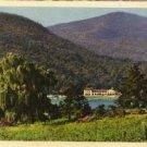 Lake Lure North Carolina Postcard, Village of Lake Lure, Full Color c.1930