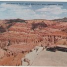 Utah Postcard, Observation Point at Cedar Breaks National Monument, Full Color c.1926