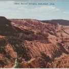 Utah Postcard, Cedar Breaks National Monument, Rainbow Ridge c.1926