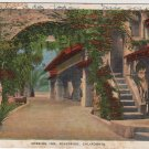 Riverside California Card, The Arch at The Mission Inn, Full Color c.1932