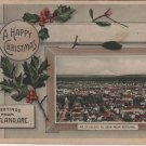 Portland Oregon Postcard, Christmas Greetings from Mt. Saint Helens c.1910
