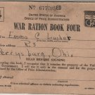WWII Era USA Ration Books with Stamps c.1943