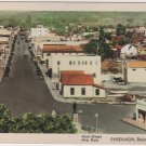 Baja California Mexico Card, Motel Martinez, Main St. & Avenue Ruiz c.1925