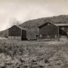 Downsville N.Y. Barns Near Pepacton Reservoir c.1949