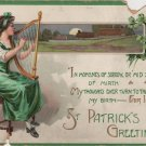 St. Patrick's Day Card, Ode to Ireland Land of My Birth c.1907