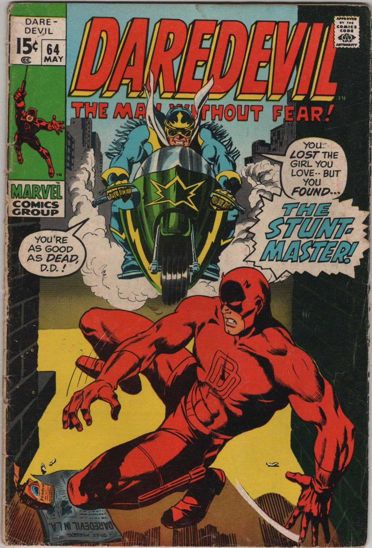 Daredevil #64 The Stunt-Master c.1970