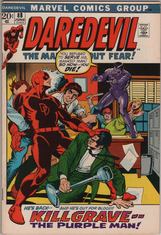 Daredevil #88 Killgrave The Purple Man c.1972