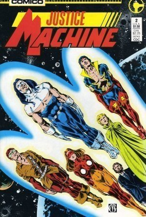 Justice Machine Comics Issue #2, Comico Run c.1987