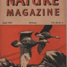 Nature Magazine, Geese in Flight, Orange Wener Cover c.1947
