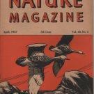 Nature Magazine, Geese in Flight, Orange Wener Cover c.1947