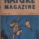 Nature Magazine, Chickadees Nesting, Blue Hexom Cover c.1945