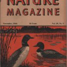 Nature Magazine, Loons, Orange Hexom Cover c.1946