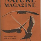 Nature Magazine, Seagulls Cover Art in Yellow c.1947